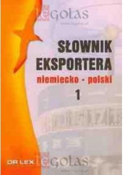 Słownik eksportera polsko-niemiecki. Pakiet
