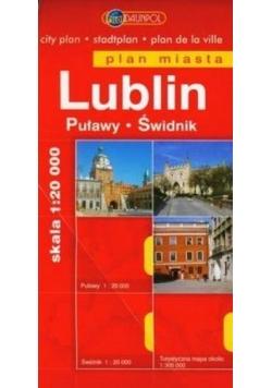 Plan Miasta DAUNPOL. Lublin br