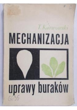 Mechanizacja uprawy buraków