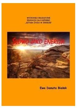 Słowo jako energia