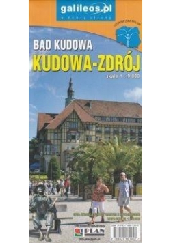 Plan miasta - Kudawa-Zdrój 1:9 000