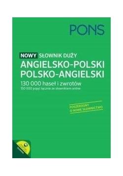 Nowy słownik duży ang-pol-ang PONS