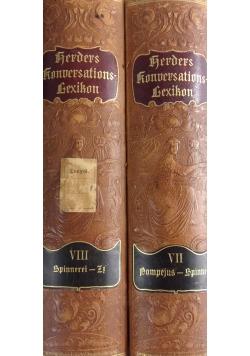 Konoerlations lexikon tomy VII-VIII, ok. 1907r.