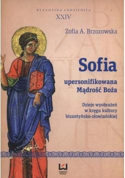 Sofia upersonifikowana mądrość Boża