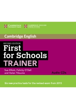 First for Schools Trainer Audio 3 CD