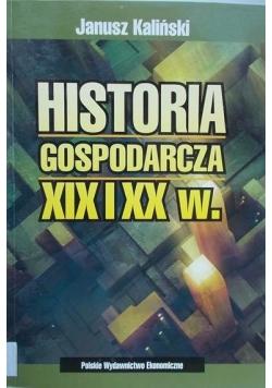 Historia gospodarcza XIX i XX w.