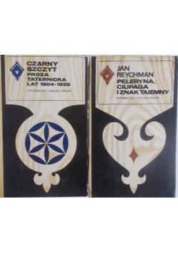 CZARNY SZCZYT Proza taternicka /Peleryna , Ciupaga i znak tajemny