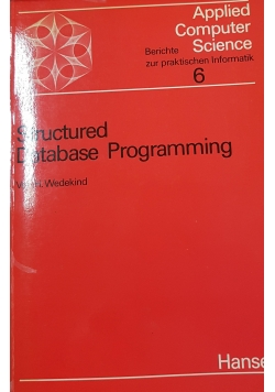 Structured database programming