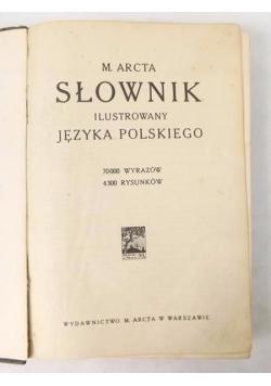 Słownik ilustrowany języka polskiego, ok.1930 r.