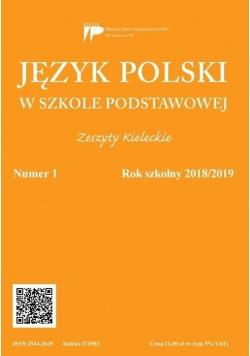 Język polski w szkole podstawowej nr 1 2018/2019
