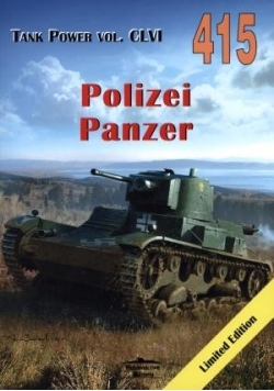 Polizei Panzer. Tank Power vol. CLVI 415