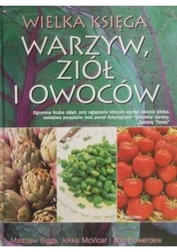 Wielka księga warzyw, ziół i owoców