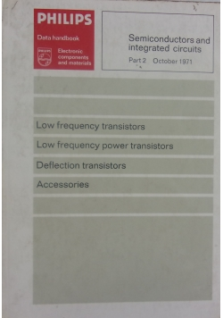Low frequency transistors/ Deflection transistors, Accessories