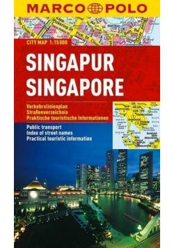 Plan Miasta Marco Polo. Singapur