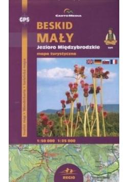 Beskid Mały Jezioro Międzybrodzkie mapy