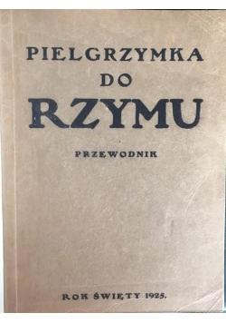 Pielgrzymka do Rzymu, 1925 r.