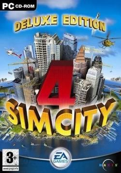 Deluxe edition SimCity 4, płyta cd- rom