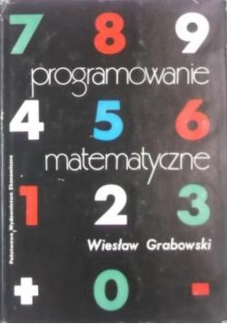 Programowanie matematyczne