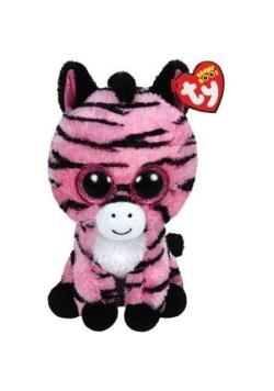 Beanie Boos Zoey - Różowa Zebra 24cm