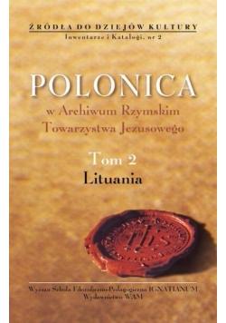 Polonica w Archiwum Rzymskim Towarzystwa Jezusowego, Tom 2