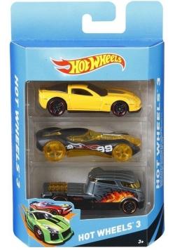 Hot Wheels Samochodziki Trzypak