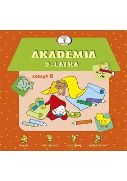 Akademia 2-latka Zeszyt B