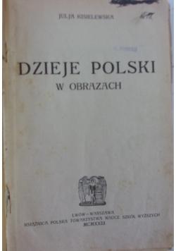 Dzieje Polski w obrazach,1922r.