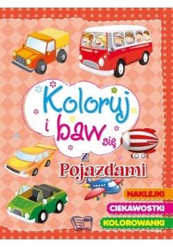 Koloruj i baw się - ze pojazdami
