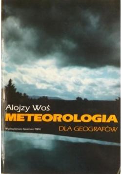 Meteorologia dla geografów