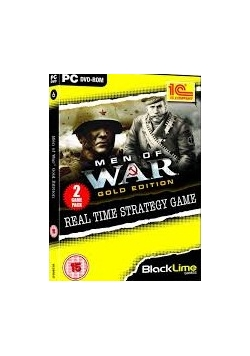 Men Of War Gold Edition. Real Time Strategy Game, DVD