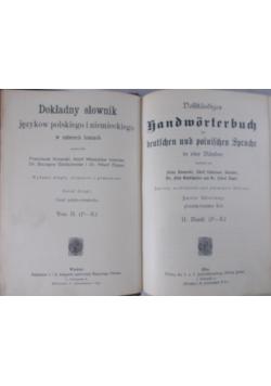 Dokładny słownik języków polskiego i niemickiego