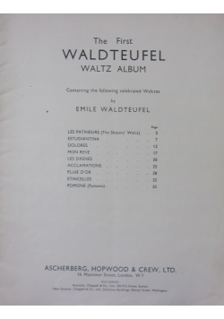 The First Waldteufel Waltz Album