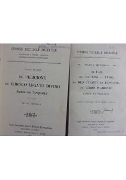 Synopsis Theologiae Moralis et Pastoralis, 1924 r. T. I - II