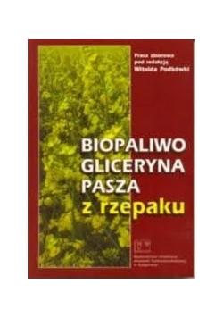 Biopaliwo, gliceryna, pasza z rzepaku