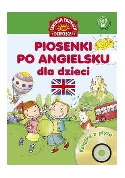 Piosenki po angielsku dla dzieci. Książka z płytą