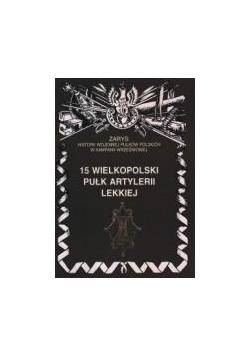 15 Wielkopolski Pułk Artylerii lekkiej
