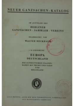 Berliner ganzsachen-sammler-vereins, 1946r.