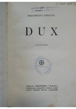 Dux, 1927 r.