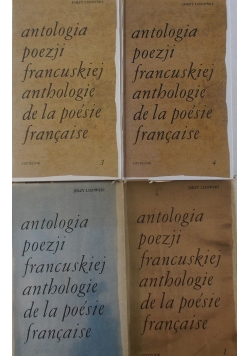 Antologia poezji francuskiej