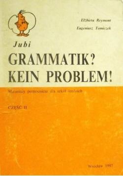 Gramatik? Kein Problem! Część II