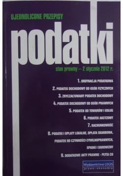 Ujednolicone przepisy podatki stan prawny- 2 stycznia 2-2012 r.