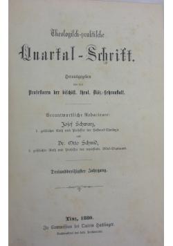Theologisch praktische Quartalschrift, 1880r.