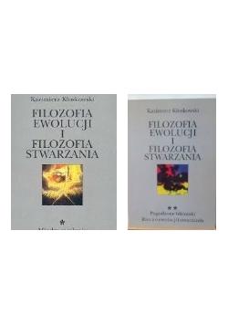 Filozofia ewolucji i filozofia stwarzania, t. I-II