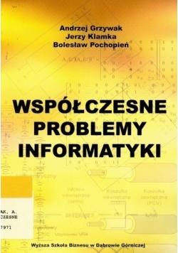 Współczesne problemy informatyki.