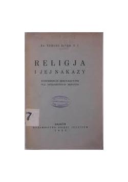 Religja i jej nakazy 1933 r.