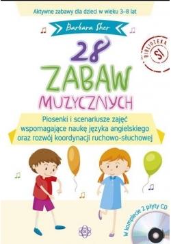 28 zabaw muzycznych + 2 CD komplet
