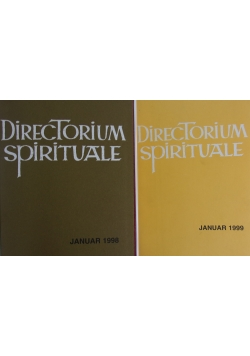 Directorium spirituale,2 książki