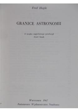 Granice astronomii