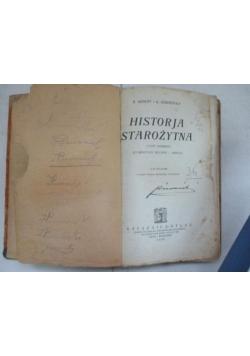 Historja starożytna. Część pierwsza. 1926 r.