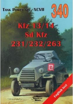 Kfz 13/14 - Sd Kfz 231/232/263 XCVII 340